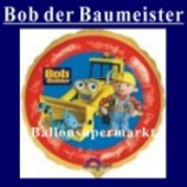 Luftballon Bob the Builder, Folienballon mit Ballongas (FHGE BBD55)