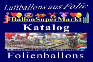 Luftballons aus Folie, Folienballons 45 cm - Luftballons aus Folie, Folienballons 45 cm