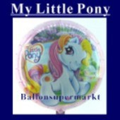 Luftballon Little Pony Star I, Folienballon mit Ballongas (FHGE74)
