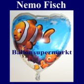 Luftballon Nemo Under the Sea, Folienballon mit Ballongas (FHGE Luftballon-Nemo-Sea-5339)