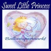 Luftballon Sweet Little Princess, Folienballon mit Ballongas (FHGE-Little-Princess-Luftballon-665124)