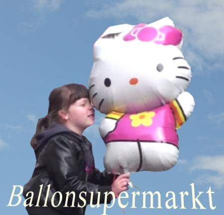 Hello Kitty Luftballon, Kinder und Luftballons